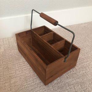 Other - Wood Utensil Caddy
